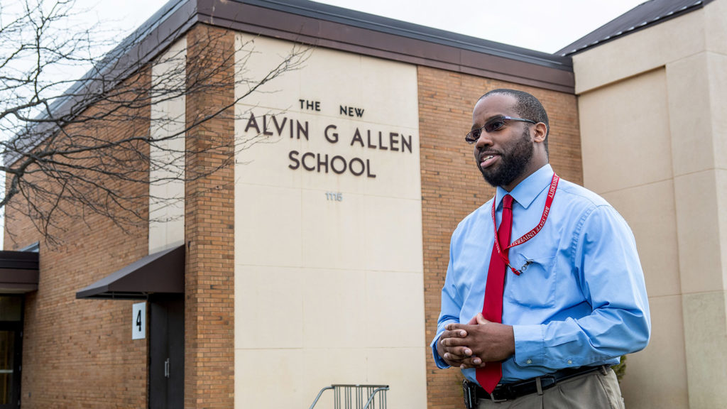 Photo of Principal Anthony Willliams