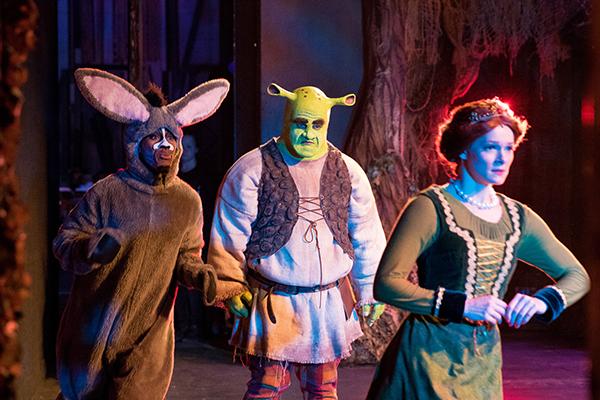Students perform Shrek The Musical