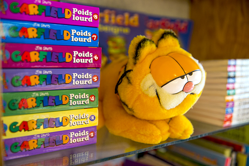 Garfield toy and games