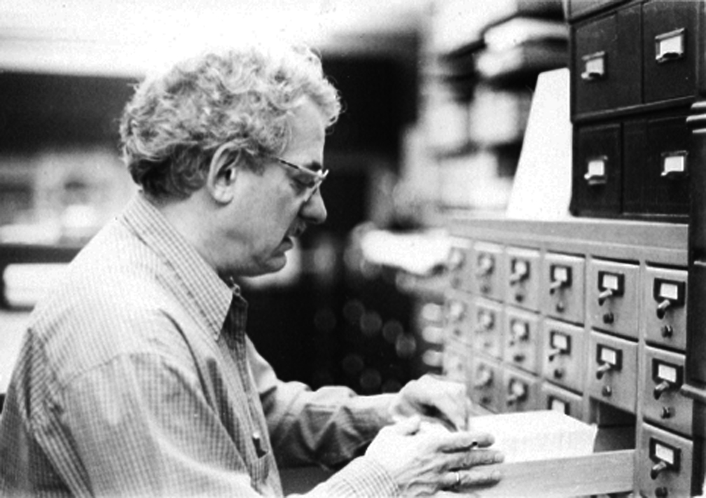 Andy at Card Catalog