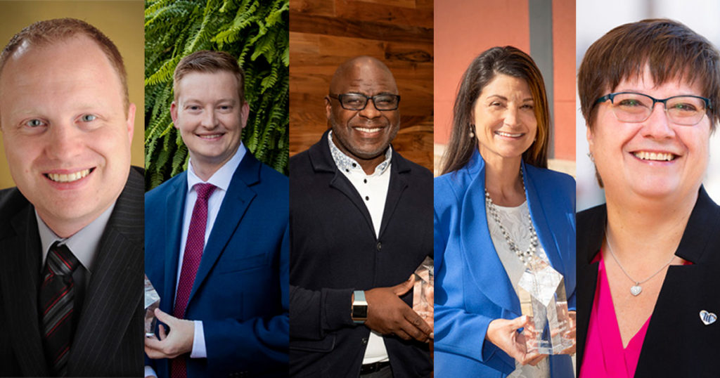 Miller College of Business Alumni Award winners