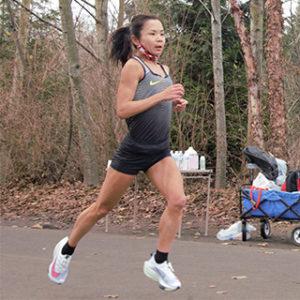 Runner Sophia Liu