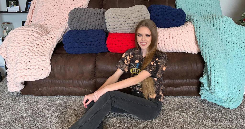 Ball State University sophomore Lydia Greene