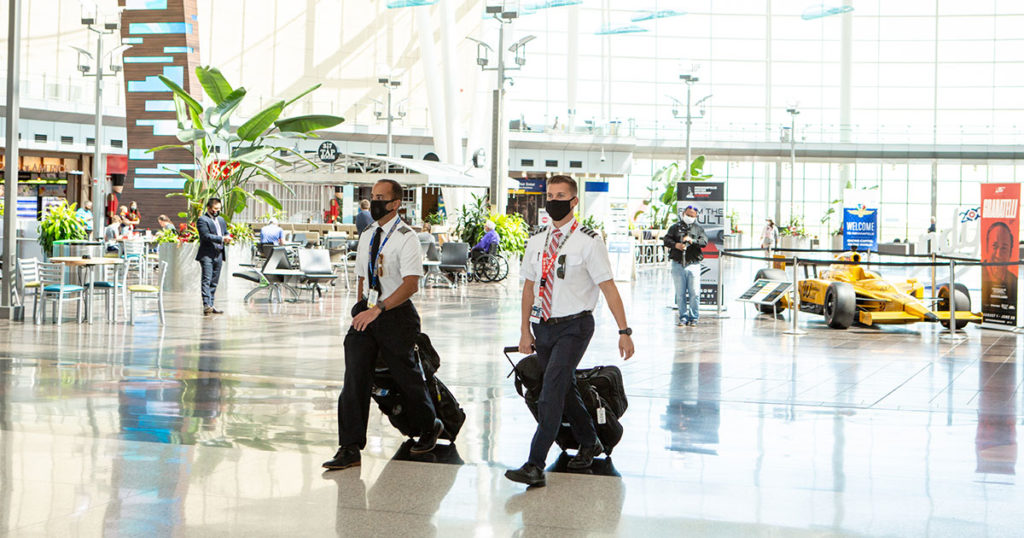 Through Immersive Learning, Ball State Students Help Shape the Future of Air Travel