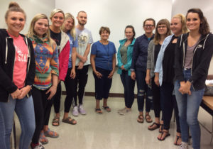 Students from Math 391