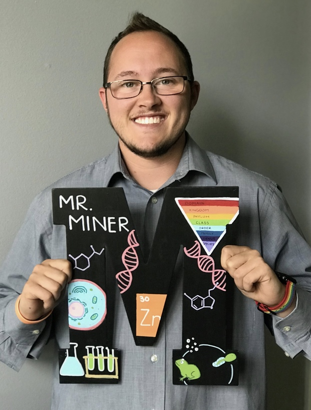 Photo of Ball State student Jackson Miner