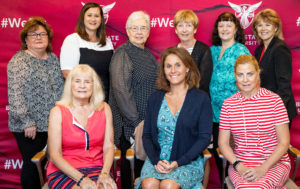 Photo of Discovery Women's Group board members in August 2021