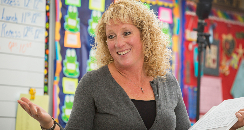 Westwood Elementary Teacher Teresa Gross