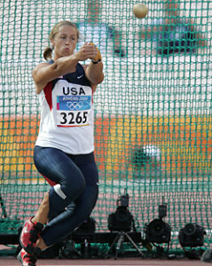 Erin Gilreath competing for team USA