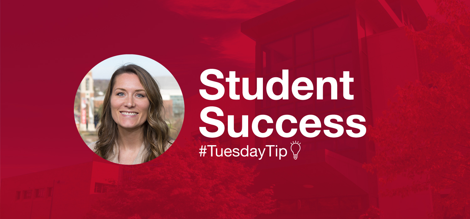 Image is of student success specialist