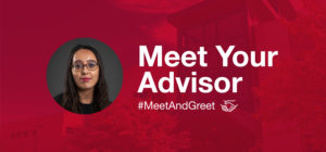 Meet Your Advisor - #MeetAndGreet