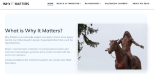 Why It Matters Website