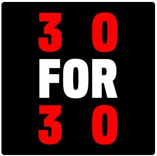 30 for 30 podcast thumbnail