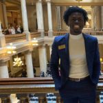 Aric Fulton at the Indiana Statehouse