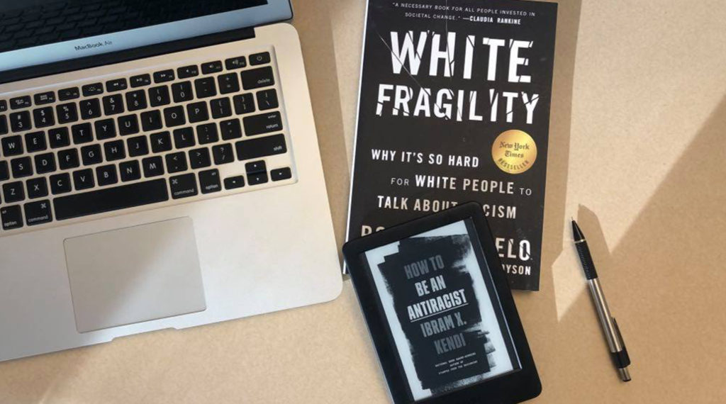White Fragility and How to be an Anti-Racist Book Covers
