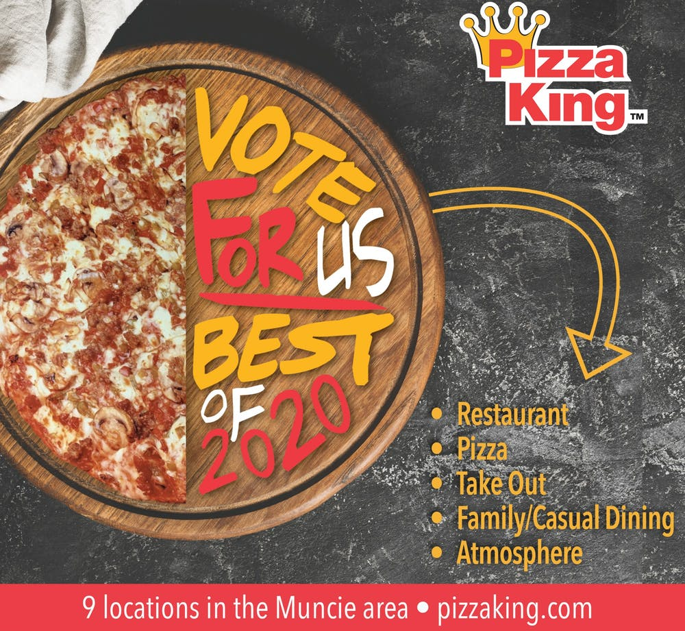 Ad of Year Pizza King