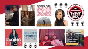 Podcast thumbnails