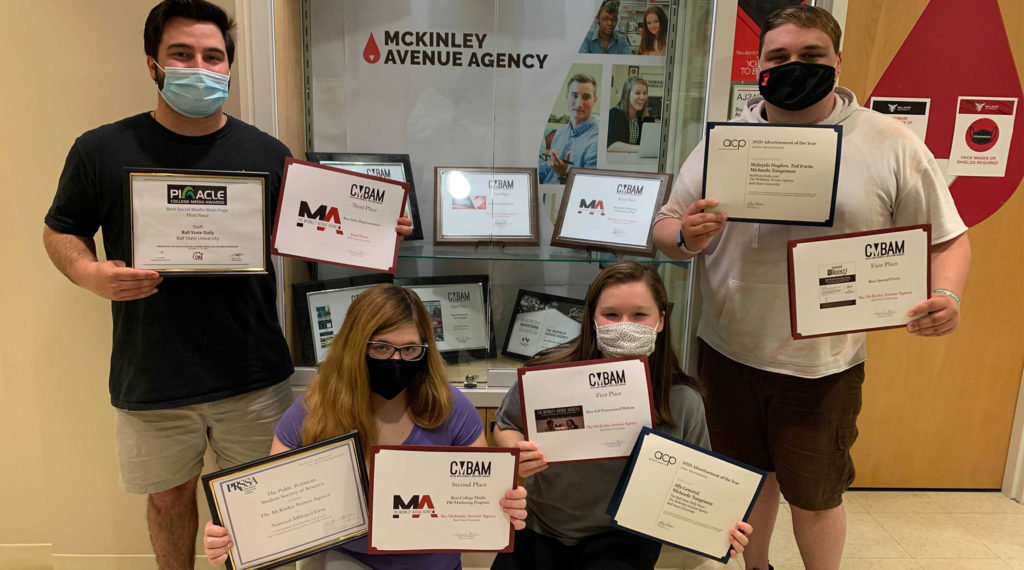 McKinley Avenue Agency students
