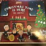 """signed album cover of Canadian Brass's """"Christmas Time Is Here: The Encore"""" recording"""
