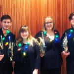 Horn Quartet posed photo