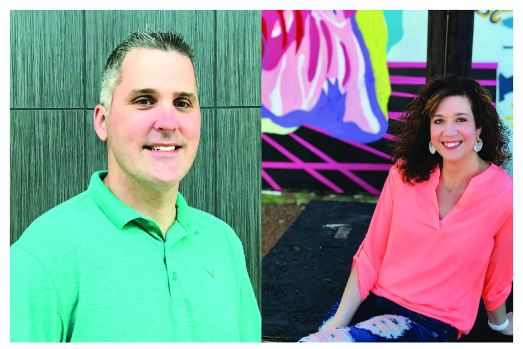 Andrew and Catharine Klein headshots