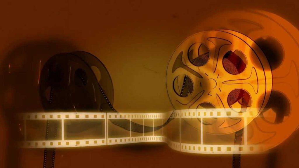 a photo of film reels