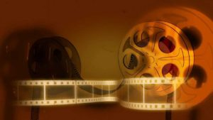 a photo of film reels